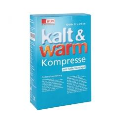 Kalt-warm kompresse 12x29cm mit fixierband