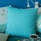 Poszewka na poduszkę dekoracyjna altom design sky blue 40 x 40 cm
