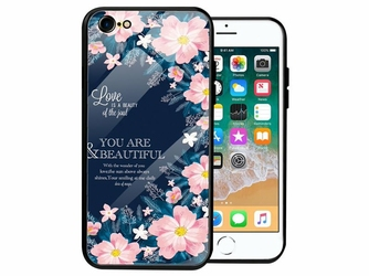 Etui Alogy Glass Armor Case do Apple iPhone 78 Kwiaty - Kwiaty