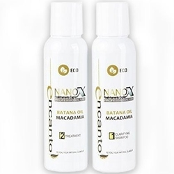 Encanto do brasil nanox 2x 236ml zestaw bez formaldehydu