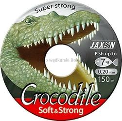 Żyłka uniwersalna JAXON CROCODILE Soft  Strong przezroczysta 0,33mm 18kg 150m
