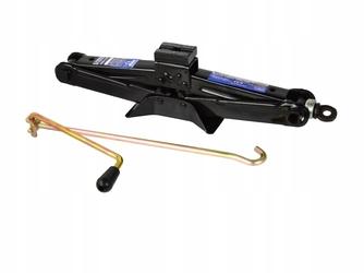 Podnośnik samochodowy lewarek trapezowy 1.5t z gumą geko