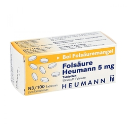 Folsaeure heumann 5 mg tabl.