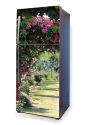 Foto naklejka na lodówkę ogród różany p60
