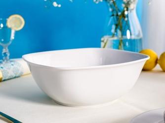 Salaterka  miseczka kwadratowa porcelana mariapaula biała 24 cm