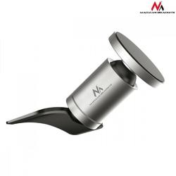Maclean uchwyt magnetyczny okrągły do montowania w slocie cd comfort series  mc-744 - aluminium