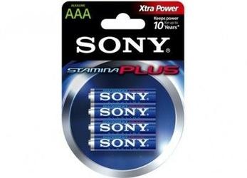 Baterie sony aaa lr03 alkaline blister 4szt. - szybka dostawa lub możliwość odbioru w 39 miastach