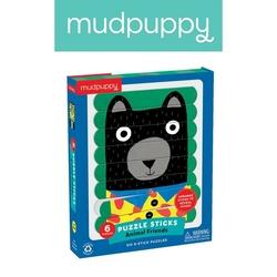 Puzzle-patyczki mudpuppy - zwierzęcy przyjaciele