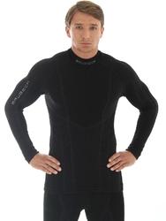 Brubeck ls10210 bluza męska extrememerino czarna