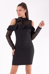 Soky soka  sukienka czarny 49005-1