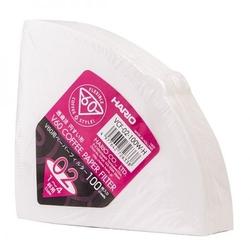 Hario | filtry papierowe do dripa białe - rozmiar 02 100 szt.