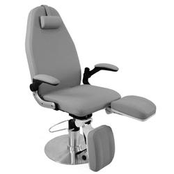 Fotel podologiczny hydrauliczny azzurro 713a szary