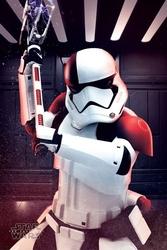 Star war the last jedi executioner trooper - plakat