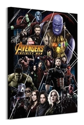 Avengers: infinity war heroes - obraz na płótnie