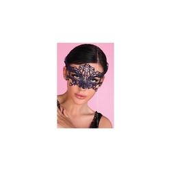 Niebieska koronkowa maska livia corsetti