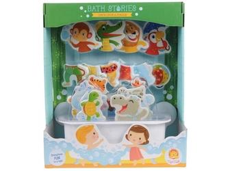 Dżungla piankowe zwierzątka do zabawy w kąpieli