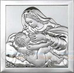 Obrazek BC64293 Matka Boska Karmiąca 16 x 16 cm.