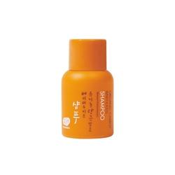 Whamisa mini produkt naturalny szampon dla niemowląt i dzieci organic carrot babykids shampoo 25ml