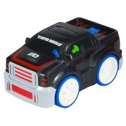 Interaktywne autko jeep z odgłosem silnika czarny
