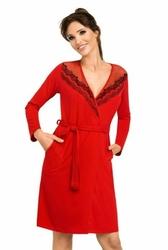 Donna jasmine czerwony szlafrok