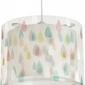 Lampa sufitowa zwis kolorowy deszcz
