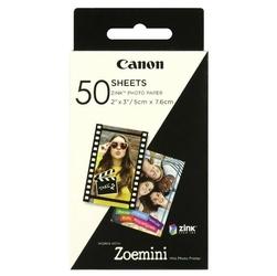 Canon ZINK Photo Paper, foto papier, połysk, Zero Ink, biały, 5x7,6cm, 2x3, 50 szt., 3215C002, termo,bez marginesu
