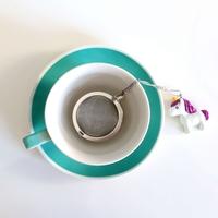Metalowy zaparzacz jednorożec kulka - idealny do parzenia herbaty, ziół, wielokrotnego użytku