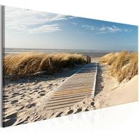 Obraz - wakacje nad morzem 1-częściowy szeroki