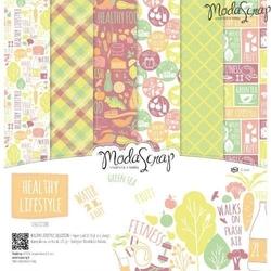 Zestaw papierów healthy lifestyle 30x30 cm