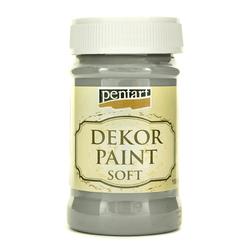 Farba Dekor Paint Soft 100 ml - grafitowy - GRAF
