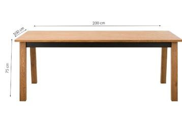 Stół do jadalni dallia 200x100 dziki dąb