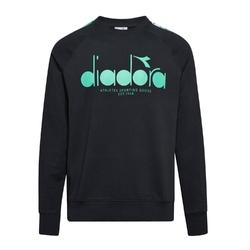 Bluza męska diadora sweatshirt crew 5palle offside - czarny