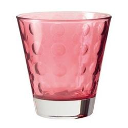 Leonardo - szklaneczka 220 ml optic - rubinowa