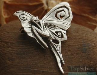 Płaczący elf ii - broszka i wisior