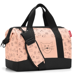 Torba allrounder m reisenthel kids cats and dogs rose rix3064