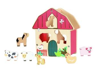 FARMA drewniany sorter ze zwierzątkami