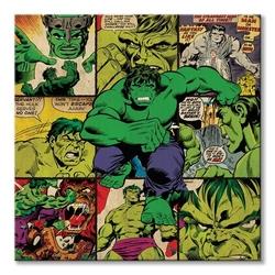 Marvel comics hulk - obraz na płótnie