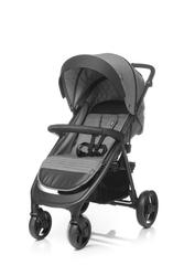 4baby quick grey wózek spacerowy + ocieplacz + uchwyt + folia