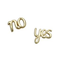 Staviori kolczyki złote tak-nie 0,333. yes or no