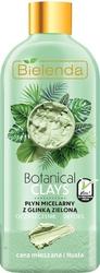 Bielenda botanical clays zielona glinka płyn micelarny do twarzy 500ml