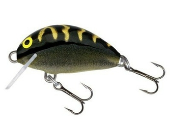 Wobler Salmo TINY BLACK TIGER 3cm2g floating