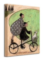 Double decker bike - obraz na płótnie
