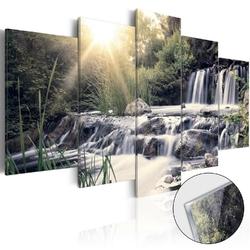 Obraz na szkle akrylowym - wodospad snów glass