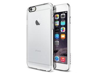 Etui spigen thin fit apple iphone 6 4.7 crystal clear - przezroczysty