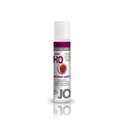 Sexshop - lubrykant smakowy - system jo h2o lubricant raspberry 30 ml malina - online