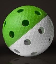 Piłka unihokey lexx iff zielono-biała