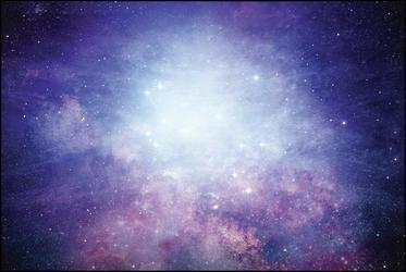 Space illumination - plakat premium wymiar do wyboru: 60x40 cm