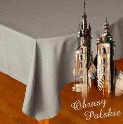 Serwetka polska greno popielaty - popielaty