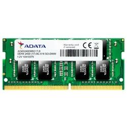 Adata Pamięć notebookowa Premier DDR4 2400 SODIMM 8GB CL17 Bulk 512x8