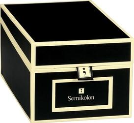 Pudełko na wizytówki die kante czarne